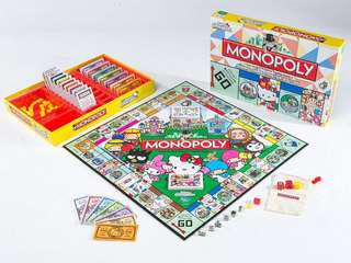 Sanrio 大富翁 Hello kitty little Twin Stars monopoly 遊戲