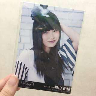 OFFICIAL Photo Yokoyama Yui AKB48 So Long!
