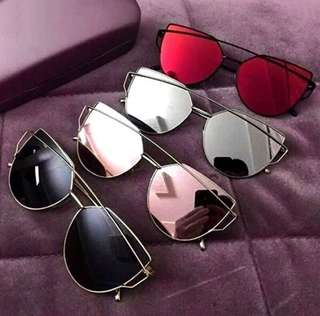 45e44c958a Metal cat eye Sunglasses