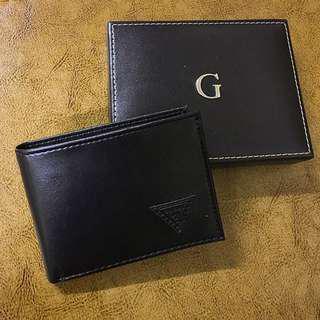 Guess Men's Wallet 皮製銀包 卡片套 黑色 男裝銀包 女裝銀包 生日禮物 免順豐運費
