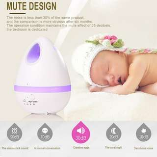 1439. Air Aroma Humidifier Color LED Lights Electric Aromatherapy Essential Oil Aroma Diffuser Household Humidifying Purifier