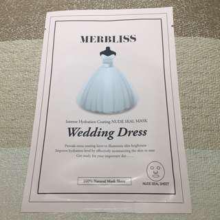 📬包郵 Merbliss wedding dress mask