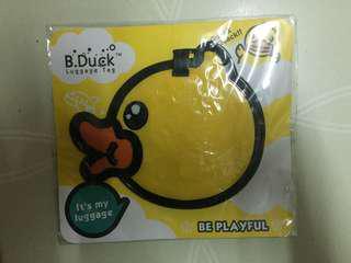 B duck行李牌