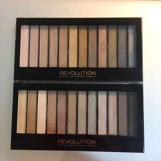 Revolution 眼影盤 (兩盤合售)