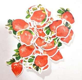 手帳貼紙 (草莓)