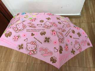 Hello Kitty Automated Umbrella 縮骨雨傘☂️自動開關