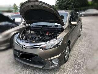 Toyota Vios 1.5 auto TRD 2014 Bulanan 8Xx