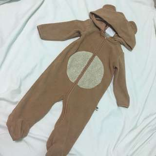 Bear costume/onesies/overall