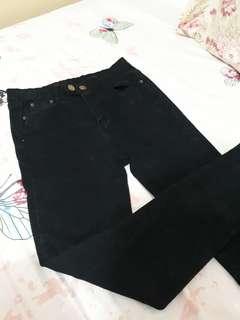 Black highwaist pants (BRAND NEW)