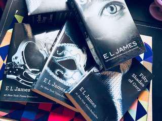 Fifty Shades Trilogy + Grey
