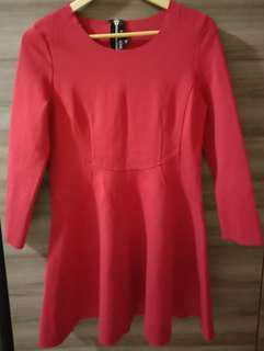 MUN MUN Red Dress (Korea)