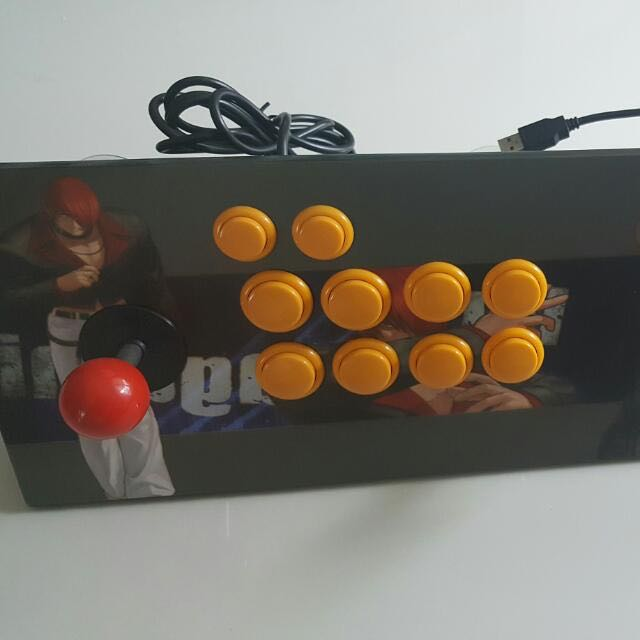 2 Player Fighting Stick / Joystick Usb For Pc, Console Or Retropie Gaming  Not HORI but of Arcade Quality  U Can plug To Jamma Too For Mame