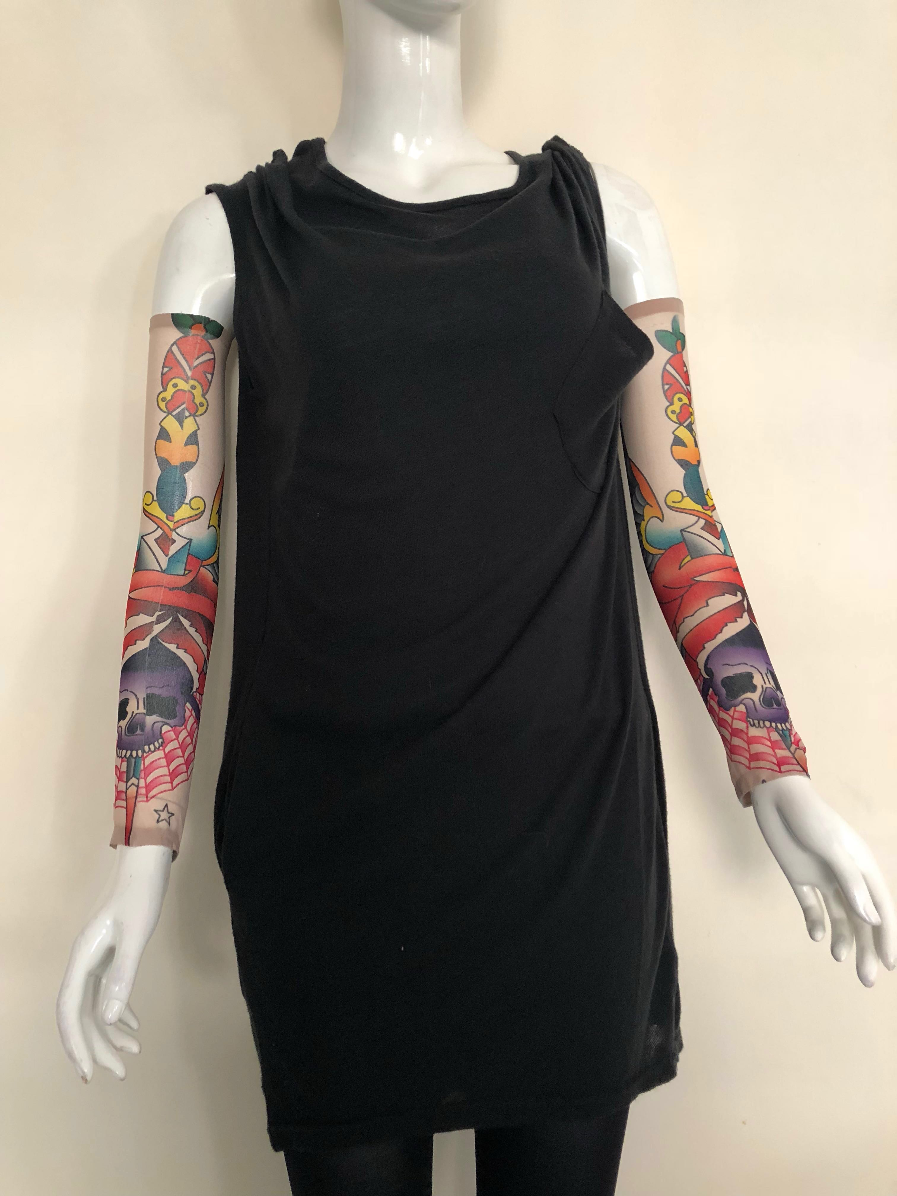 Zhoelux Tattoo Arm Sleeves Arm Socks Arm Cover Hand Gloves