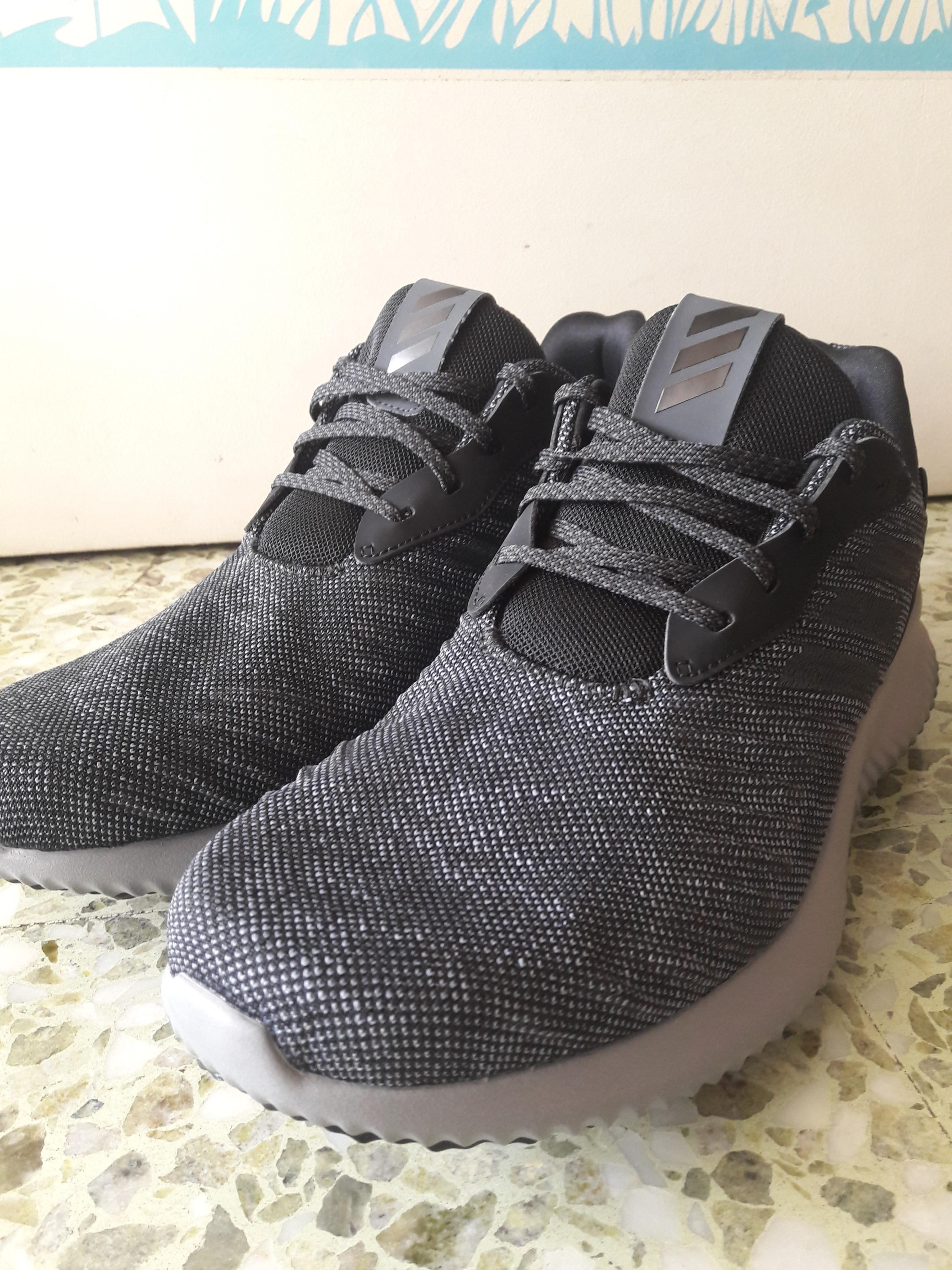 1f6886d72f3df Adidas Alphabounce black grey