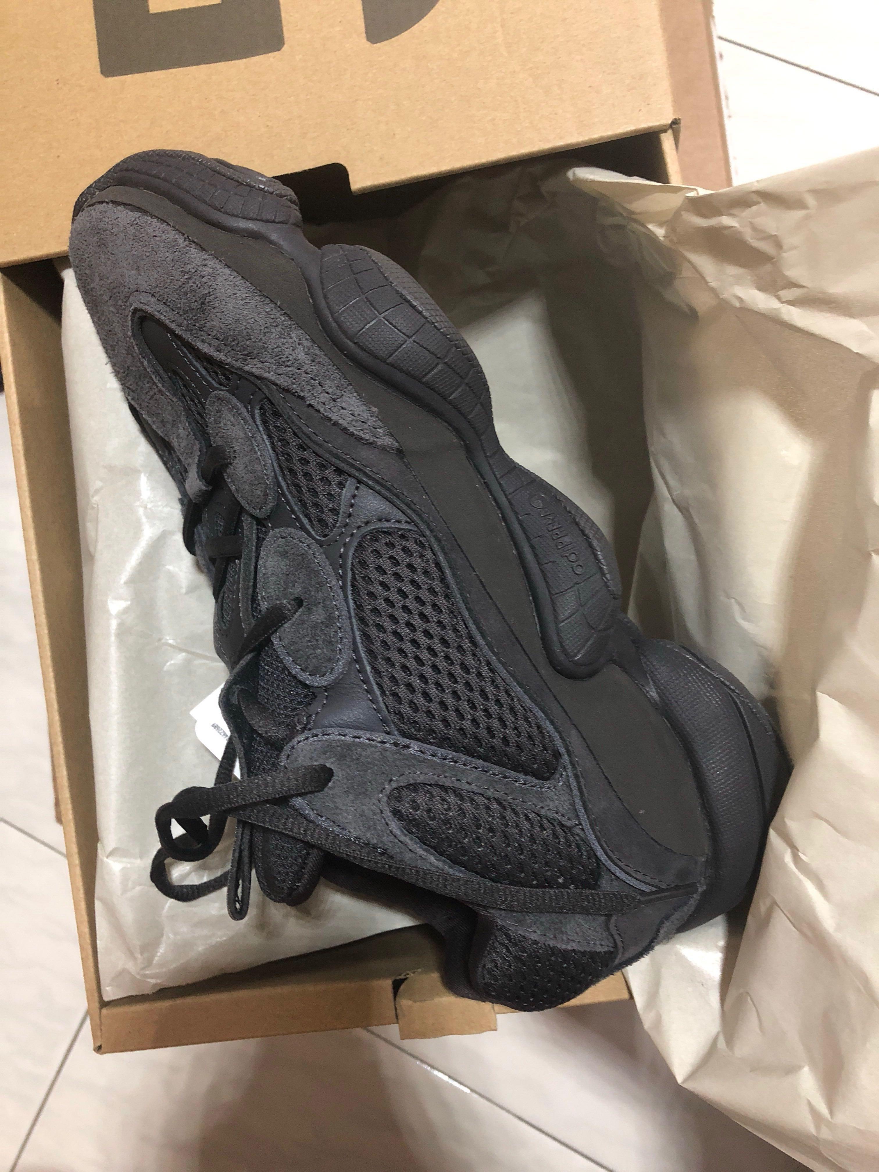 5cfa6379 adidas Originals x Kanye West Yeezy 500 F36640 Utility Black 7.5 ...
