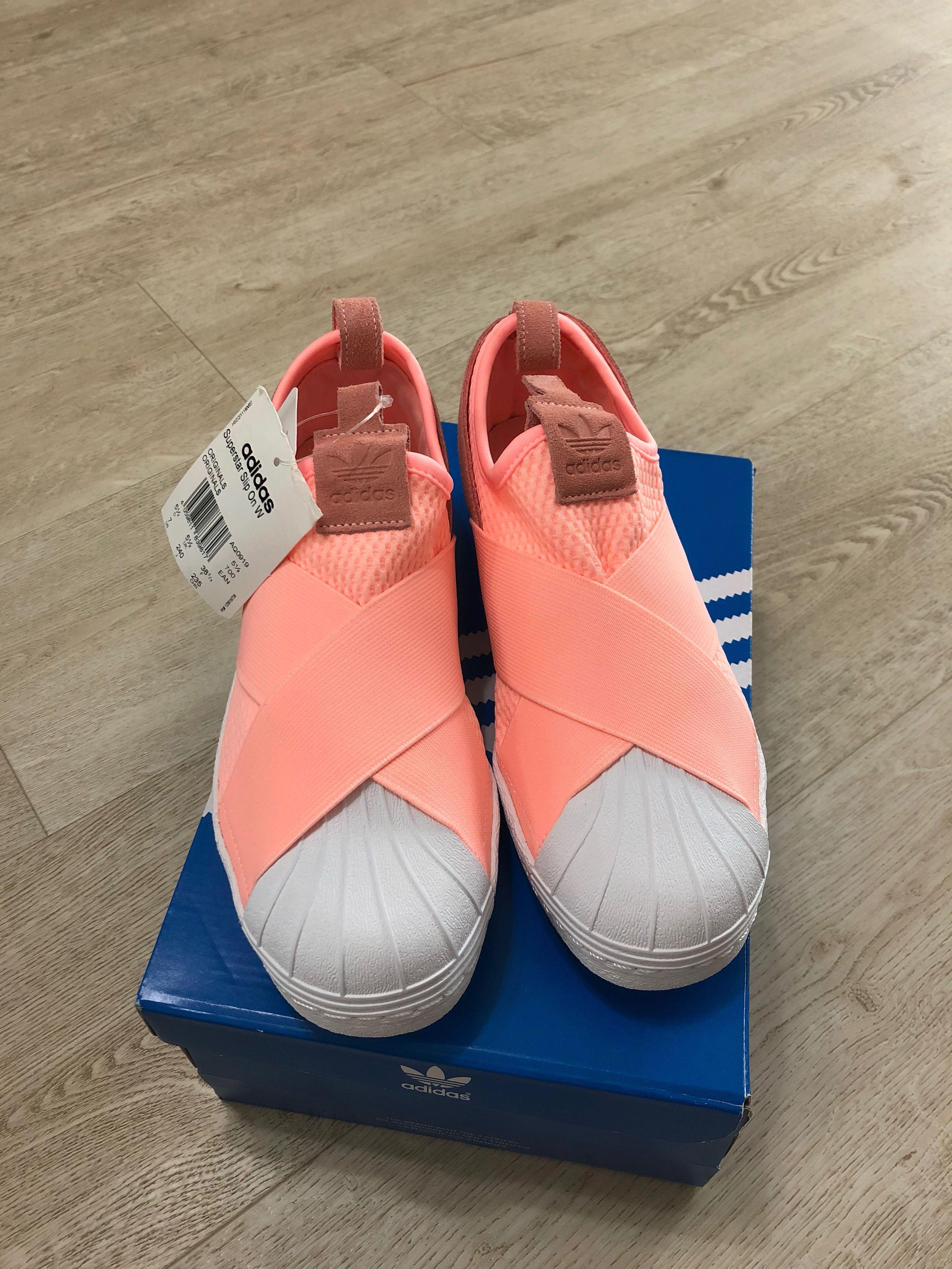 adidas superstar clear orange