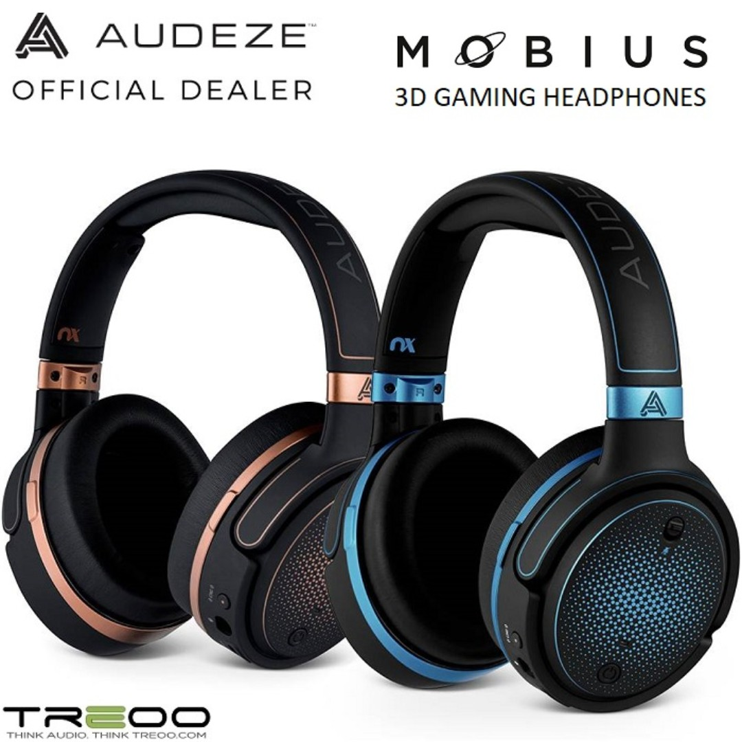 91f49faa7d1 Audeze Mobius Planar Magnetic Wireless Over-Ear Gaming Headset w ...