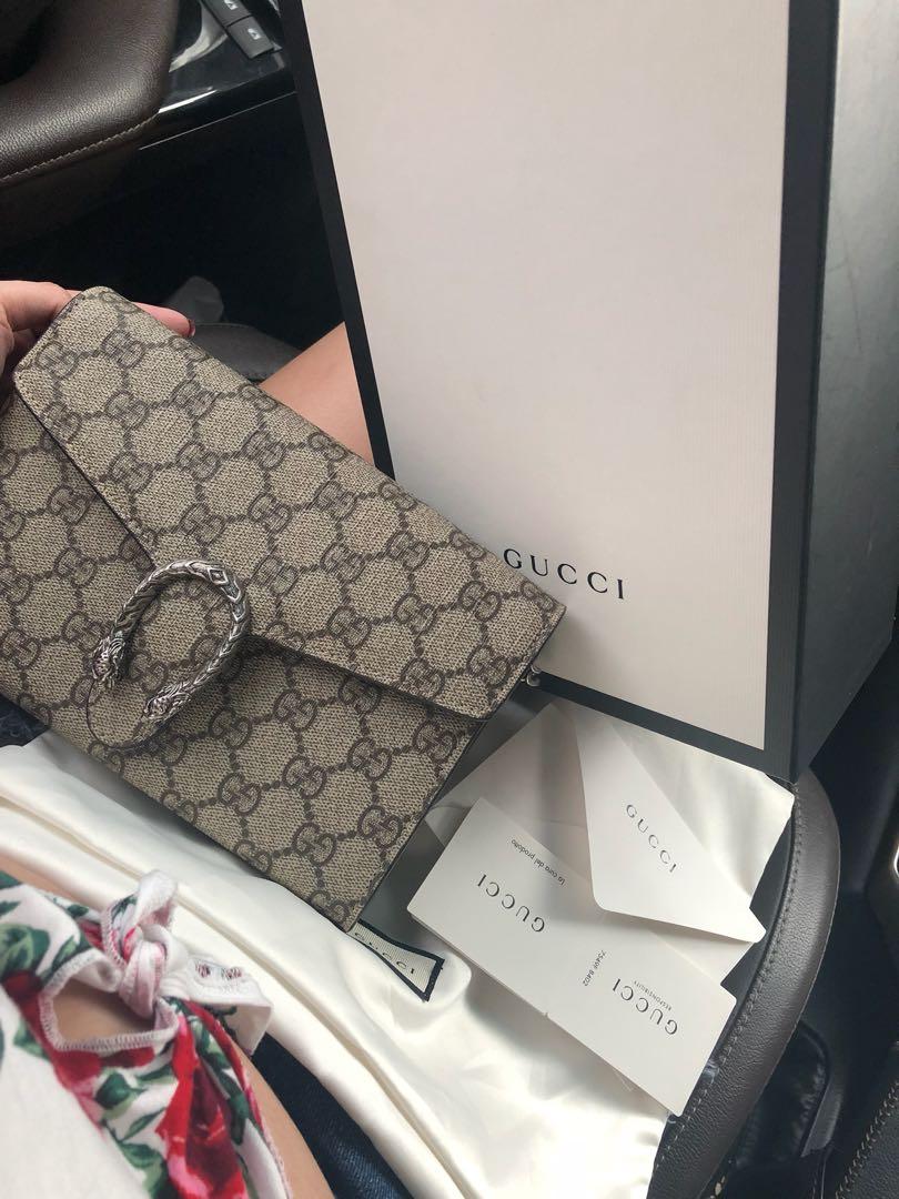 b4e2467fb08 Authentic Gucci Dionysus WOC