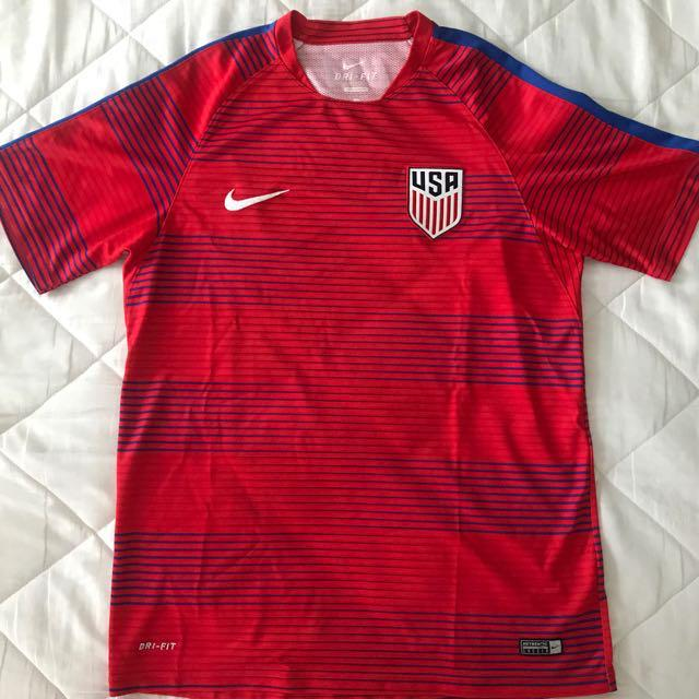 Arashigaoka derivación límite  Authentic Nike Team USA Football Jersey, Men's Fashion, Clothes on Carousell