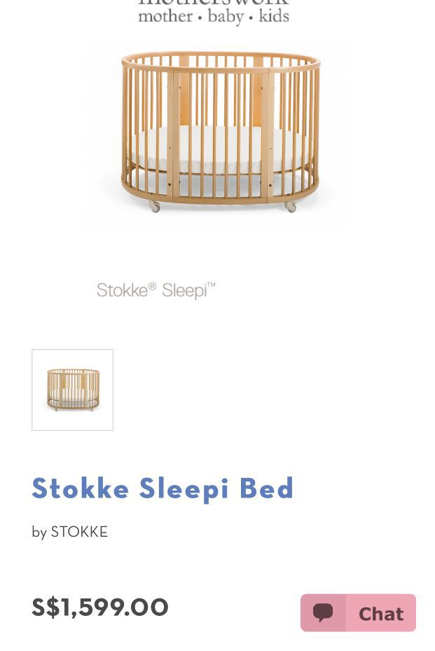 Deryan Peuter Bed.Baby Cot Similar To Stokke Sleepi Bed Babies Kids Cots Cribs