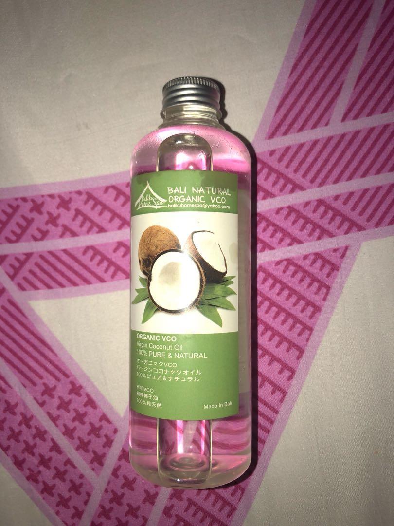 Bali Balance Raw Extra Virgin Coconut Oil Vco 100ml Spec Dan Lemonilo 100 Organic 250 Ml