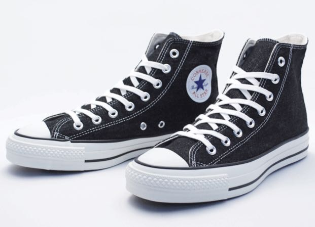 176cc171f836 CONVERSE ALL STAR Black Hi Cuts