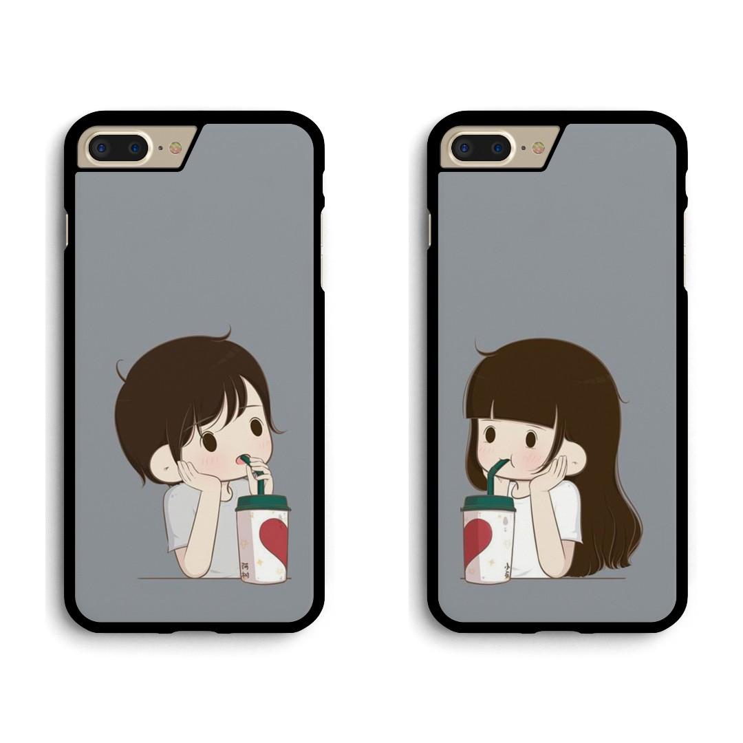 competitive price 21d91 fd31c Cute Couple Custom Case