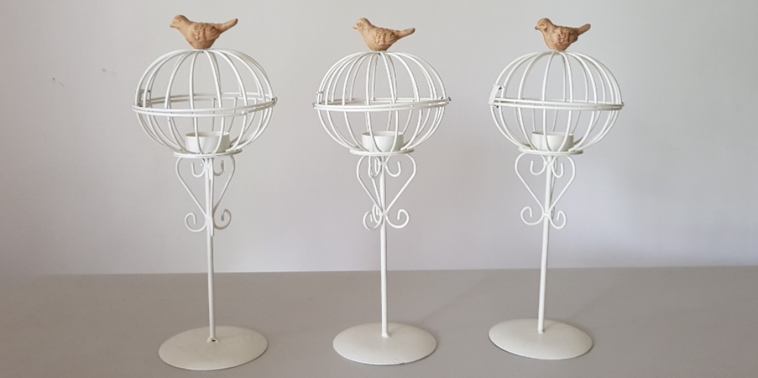 Decorative Bird Cage Candle Holder Design Craft Others On