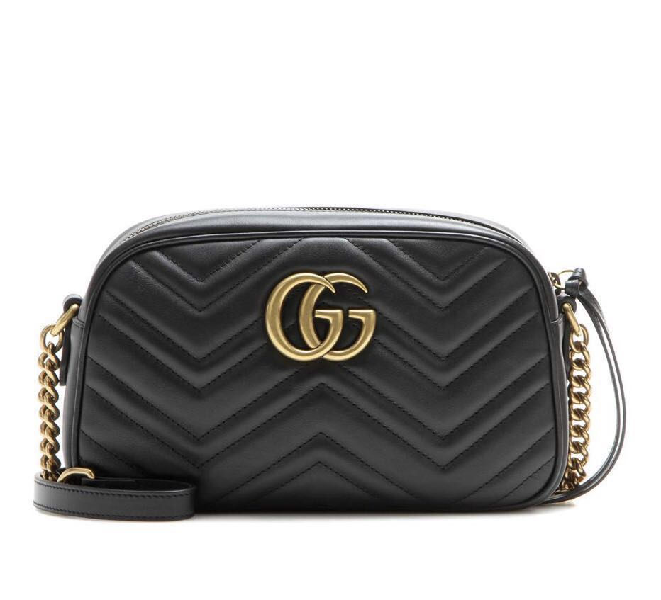 1fb3a90e014cf7 Gucci GG Marmont matelasse leather crossbody bag, Women's Fashion ...