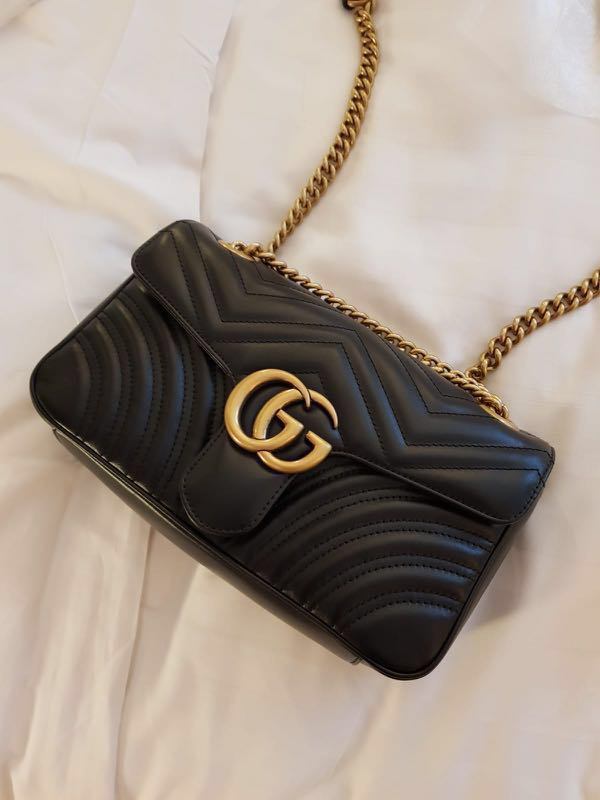 510135bcd72 Gucci Marmont Matelasse Small Bag