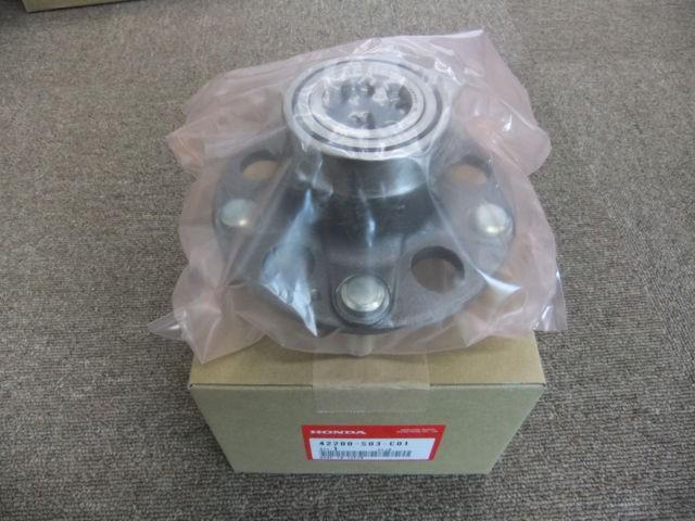 Honda fit ge6 ge8 rear wheel bearing hub replacement, Car