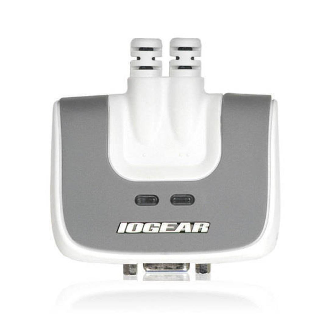IOGEAR 2-Port USB VGA Cable KVM Switch with Audio - VGA 分線器