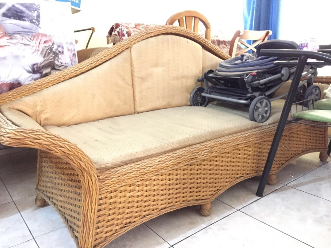 Kursi Sofa Rotan Murah Home Furniture On Carousell