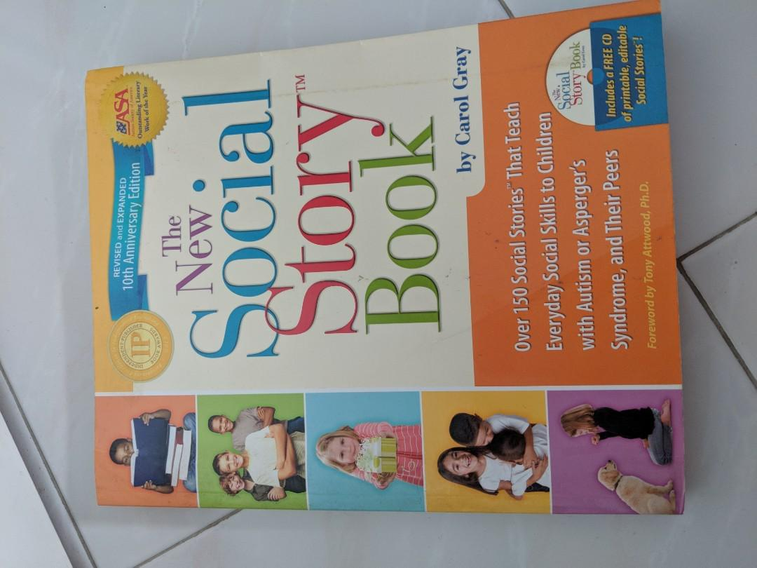 New social stories book