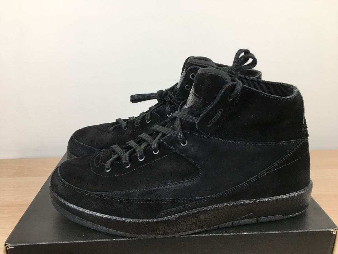 sale retailer 7a01b 4c117 Nike Air Jordan 2 Deconstructed Black