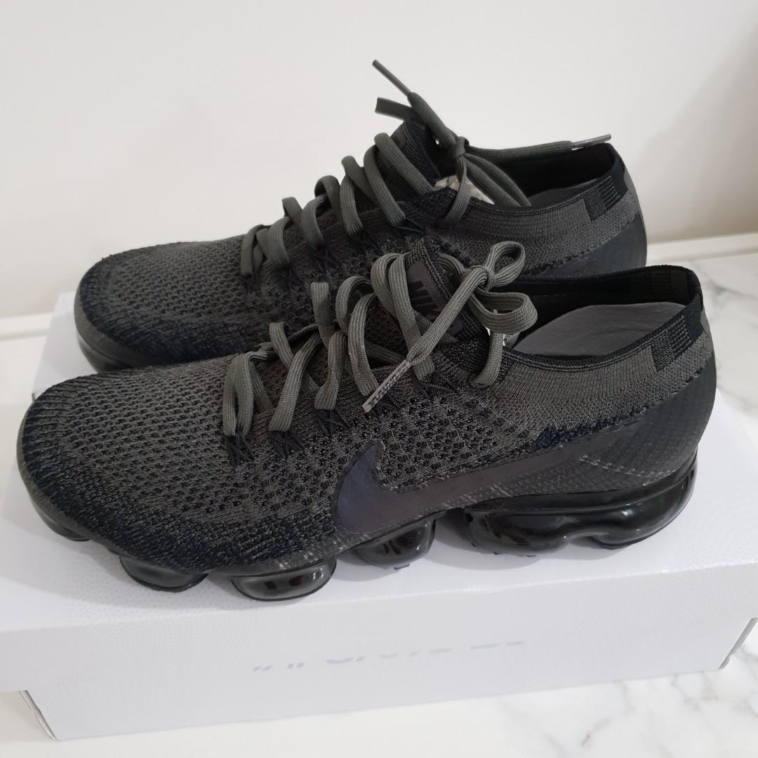 be4235818bc49 Nike Air Vapormax Flyknit (Midnight Fog) US9