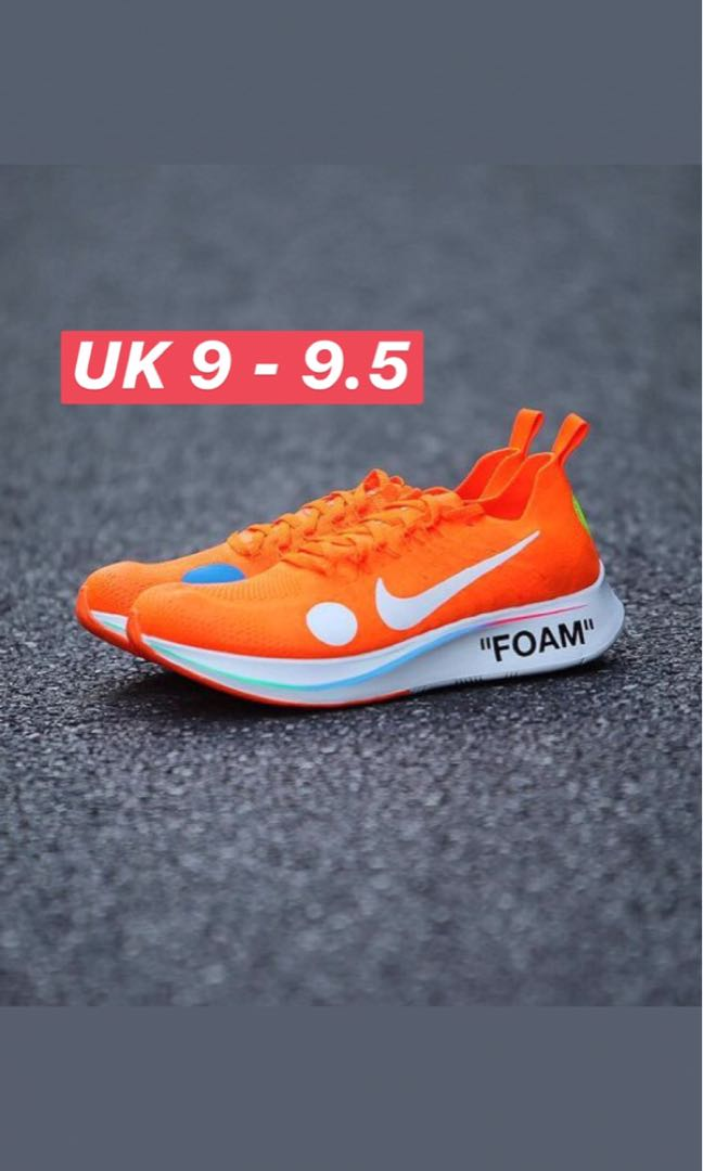 08f986ad3956 Nike Offwhite Mercurial Zoom Fly