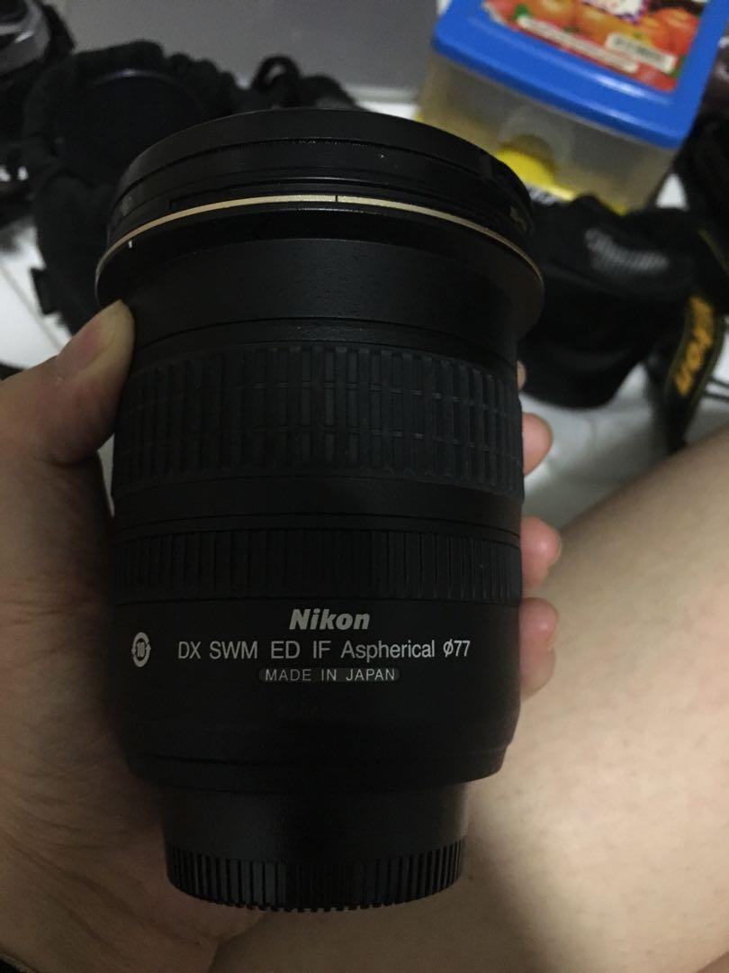 Nikon Wide angle lens
