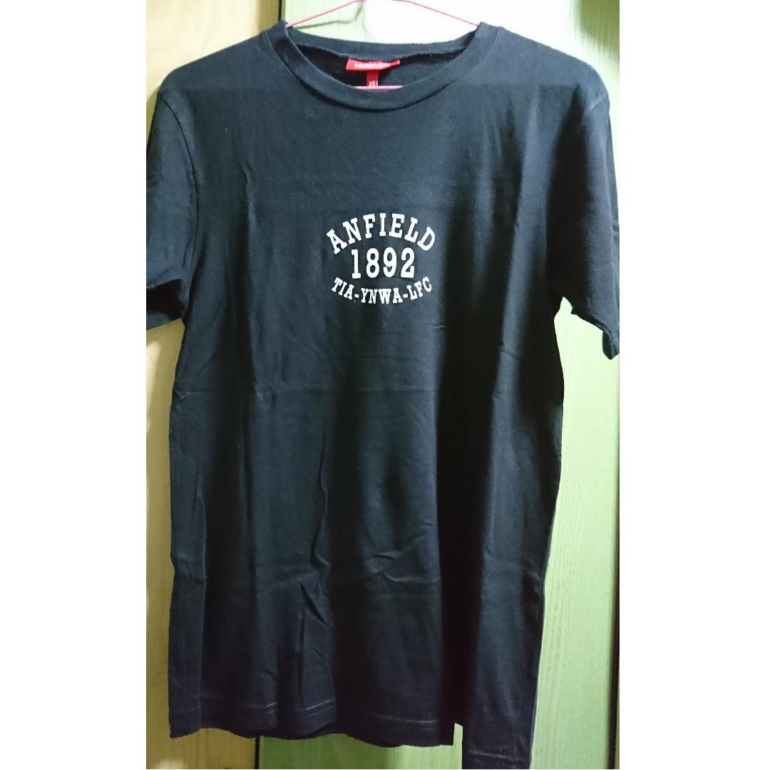 35b7b06b79b Official Liverpool FC Black Anfield Fan T-shirt, Men's Fashion ...