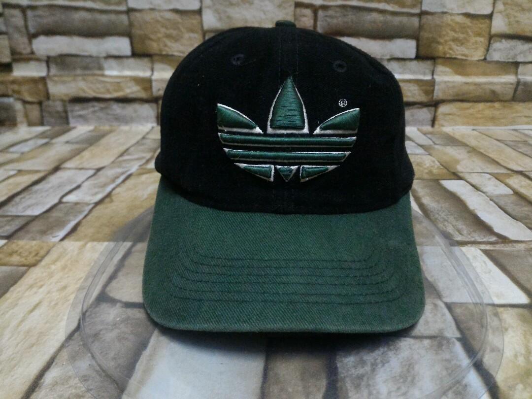 529e07257c1f7 Original vintage vtg adidas trefoil big logo cap / snapback / cap