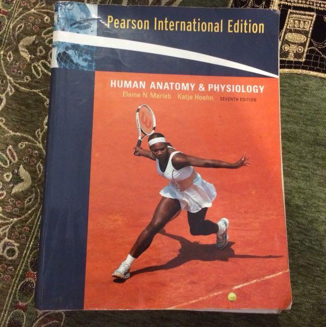 Pearson Human Anatomy Physiology Textbooks On Carousell