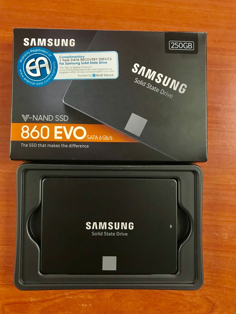 Samsung Ssd 860 Evo 25 Sata 6gb S 250gb 5 Year Warranty Inch Iii Electronics Computer Parts Accessories On Carousell