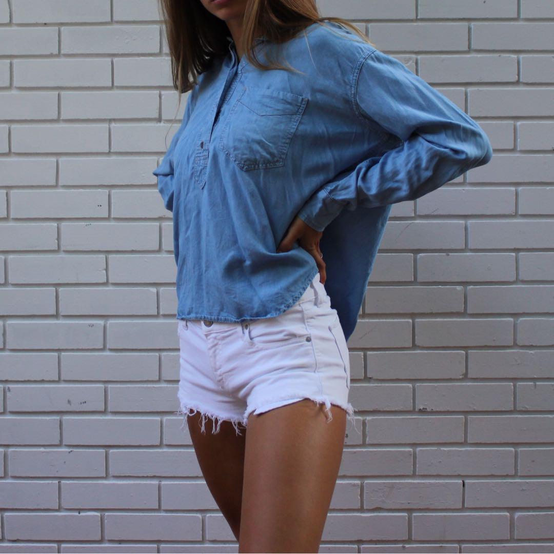Soft jean shirt
