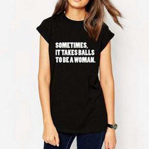 b603d455901 Sometimes Balls Unisex Design Apparel T-Shirt Tee