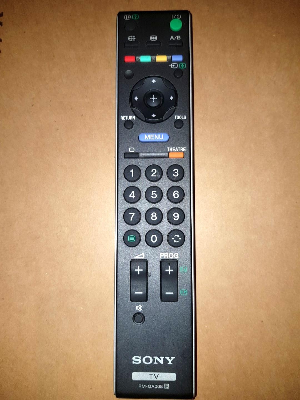 Sony RM-GA008 TV Remote Control, Electronics, Audio on Carousell