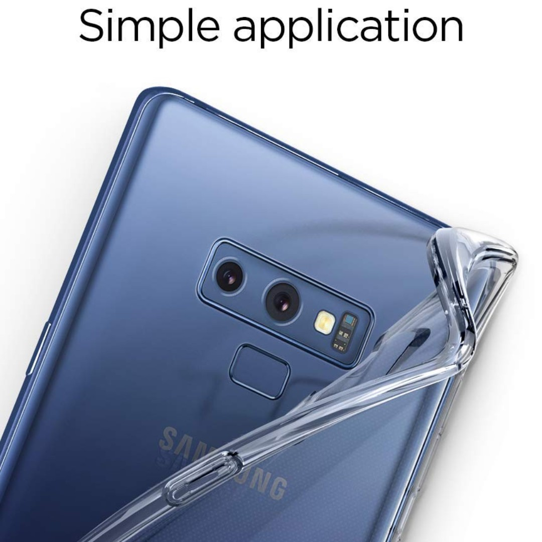 Spigen Liquid Crystal For Samsung Galaxy Note 9 Clear Mobiles S8 Plus Case Original Tablets Mobile Tablet Accessories On Carousell