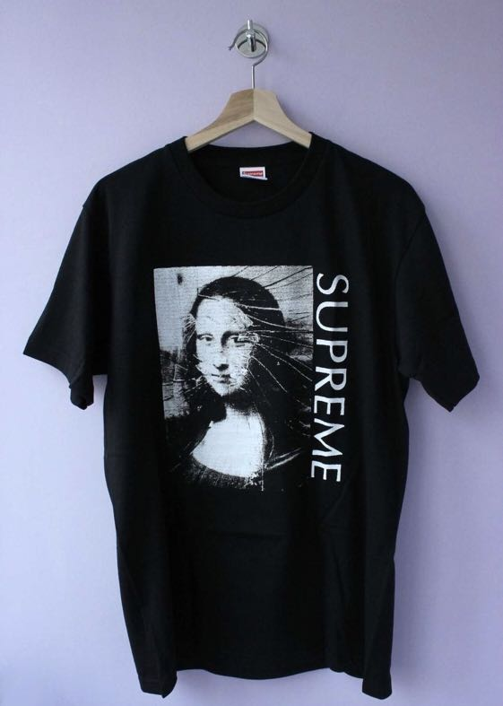 7656f282b429 Supreme Mona Lisa tee size S, Men's Fashion, Clothes, Tops on Carousell