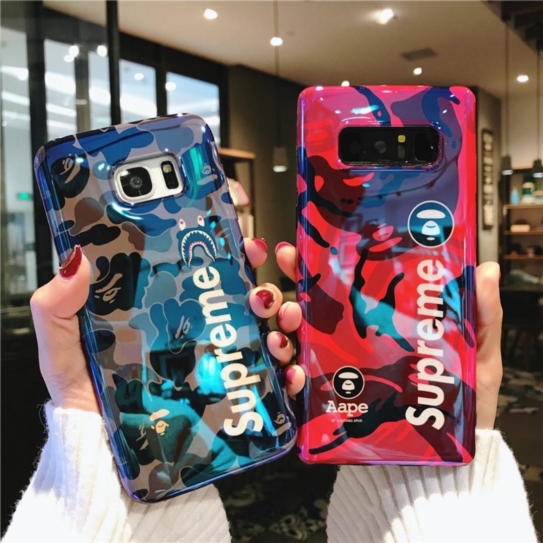 competitive price 3ddf4 ba4ed Supreme x Stussy Case Samsung S7 Edge S8, S8 Plus & Note 8