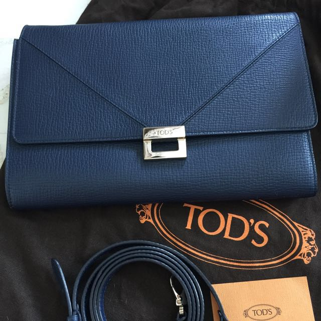 00767bc7e571 TOD'S Sling / Clutch, Luxury, Bags & Wallets, Sling Bags on Carousell