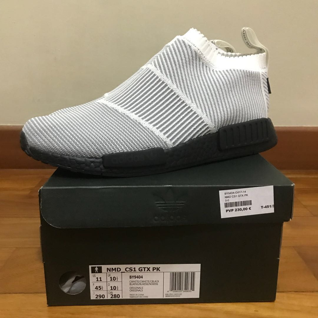 87a128c8b2b49 UK 10.5   US 11 ADIDAS NMD CITY SOCK GORETEX PK